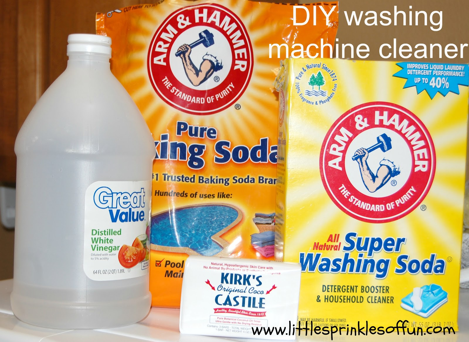 little sprinkles of fun: diy laundry soap & the best cleaner for