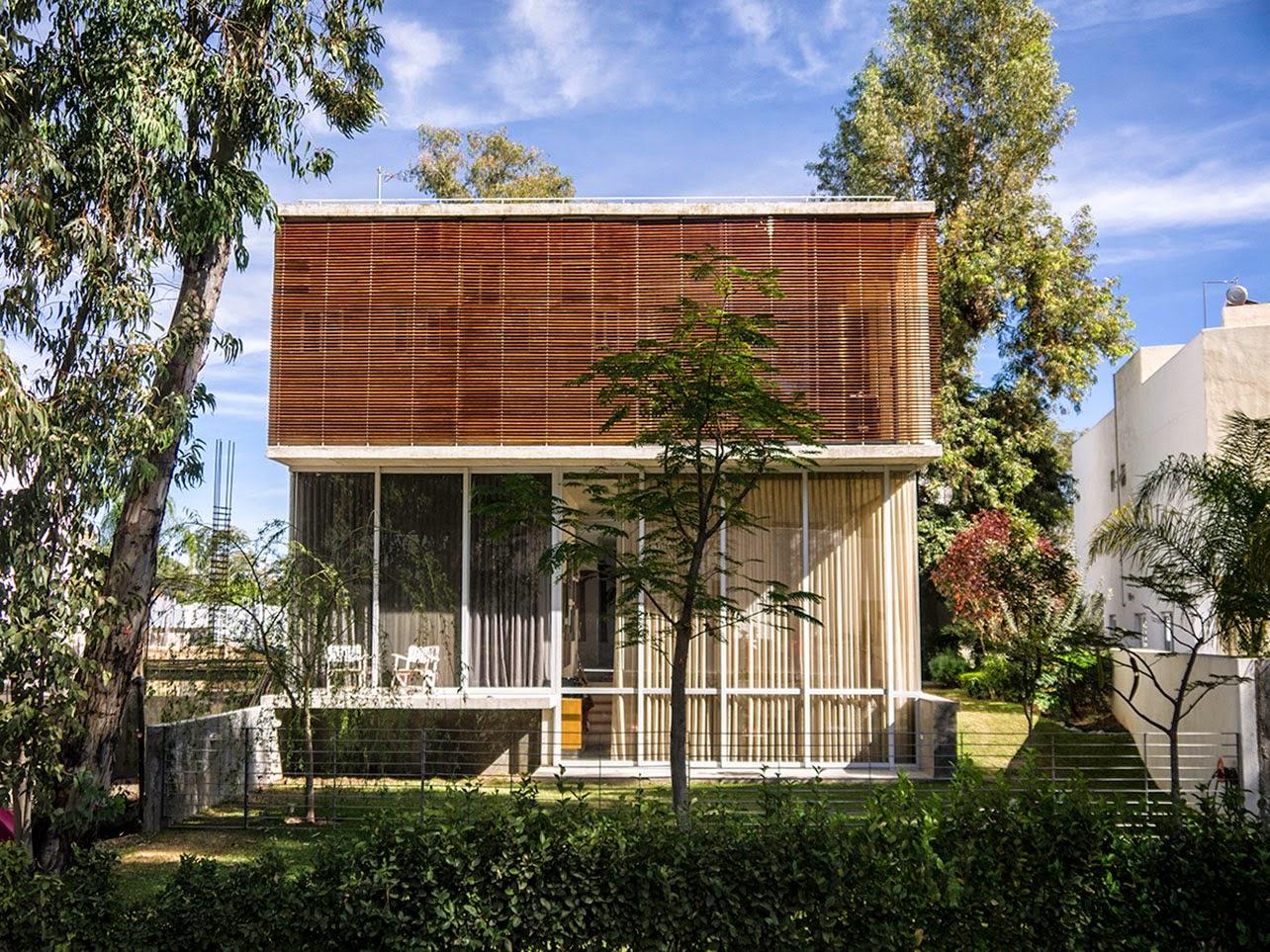 10 desain denah rumah minimalis modern 2 lantai type 45 - Desain Rumah Minimalis 2 Lantai Type 45