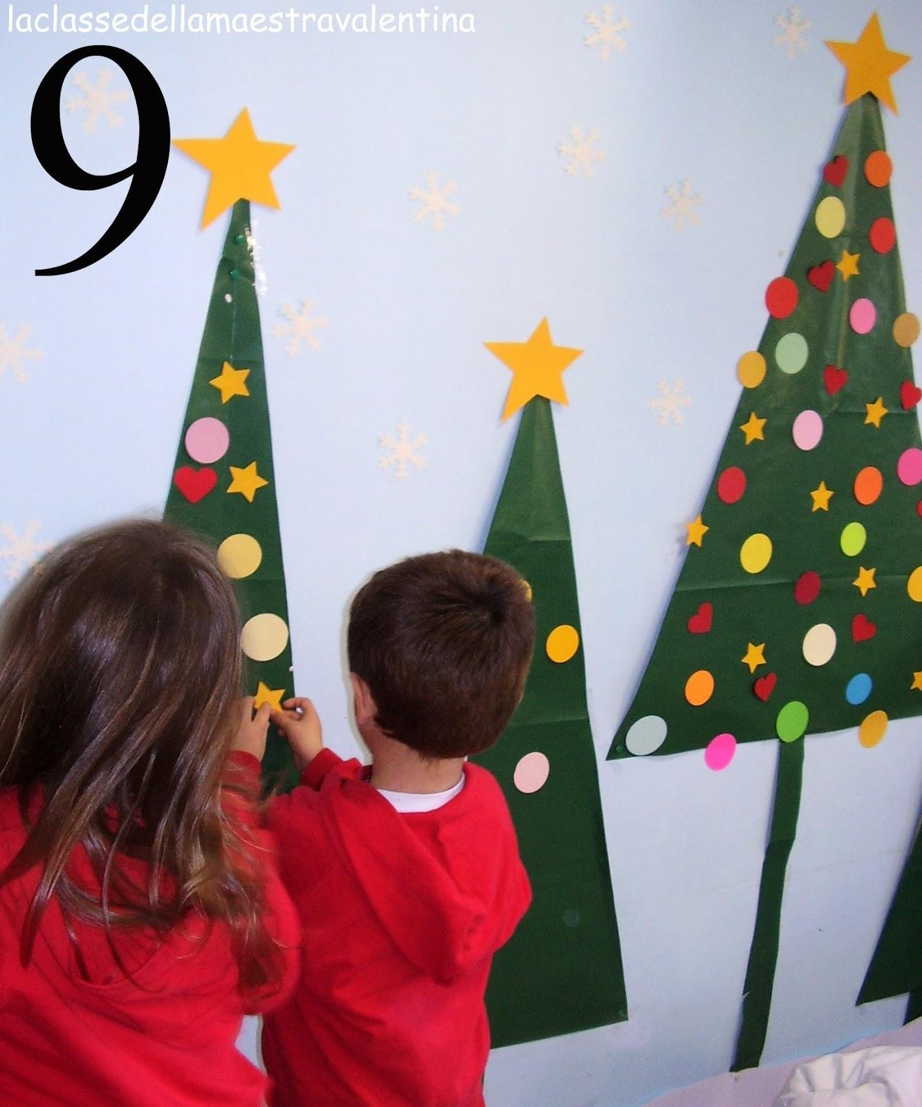 La classe della maestra valentina natale con i bambini for La classe della maestra