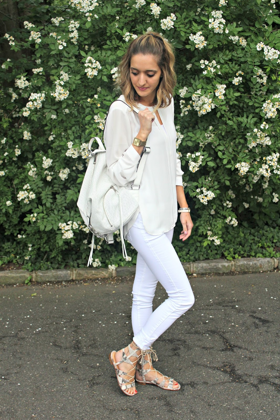 abercrombie and fitch white jeans