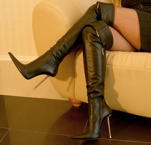 high heel boot fetish № 49442
