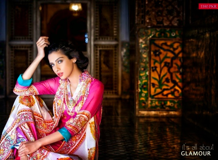 Zeb-Aisha Summer Dresses 2014 By Al-Zohaib