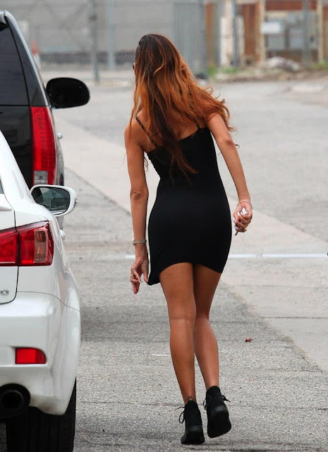 Rihanna Tight Dress