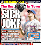 "An ""Only the Mets can do this"" headline"