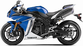 2011 Yamaha YZF-R1 left side pic