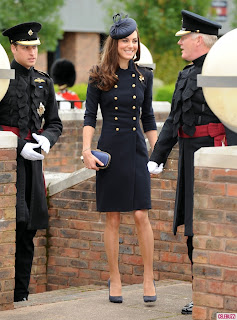 Kate  Middleton  Prince  William  Irish  Guards  X