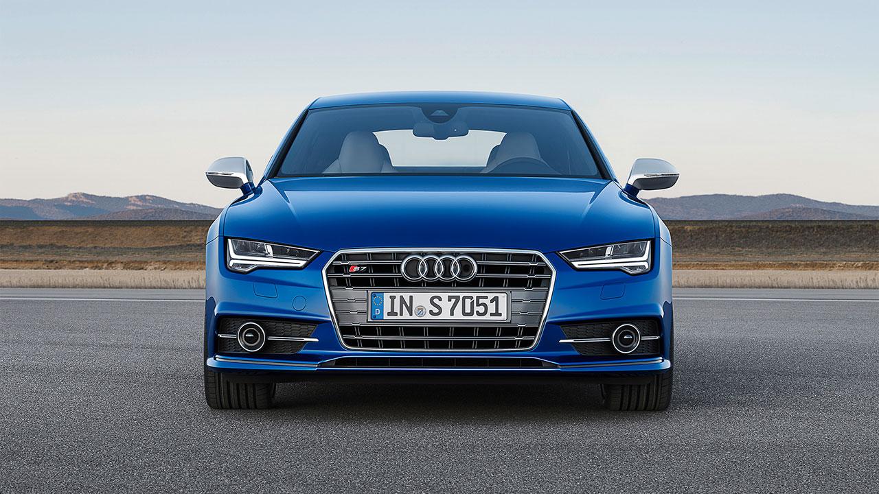 Audi S7 Sportback front