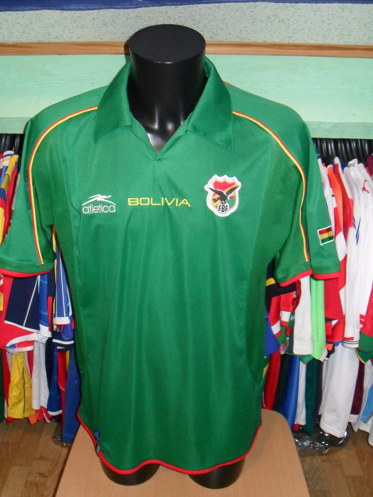 Mon grenier maillots bolivie bolivia 1994 2004 - Lac des cygnes porte maillot ...