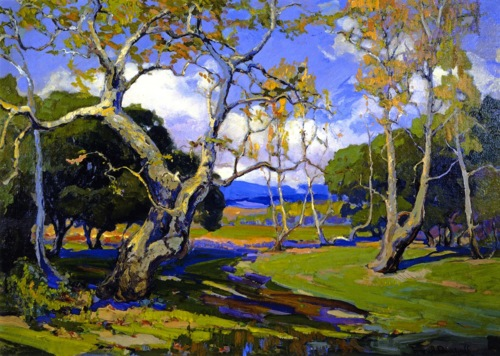 Arte   Californian Landscapes  Franz Bischoff