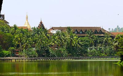 Kandawgyi Palace Hotel in Yangon