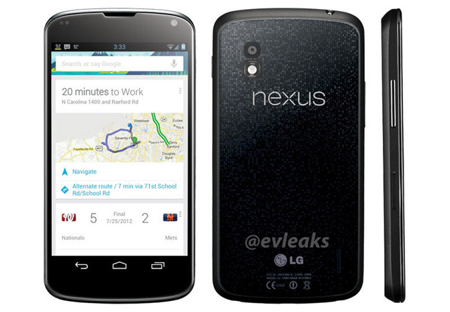 Se filtran datos del LG Nexus y nuevas imagenes