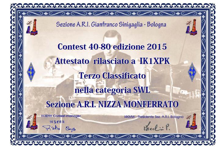 Contest 40/80 2015