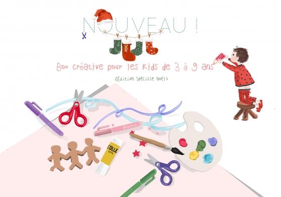 Tiniloo - Box créative pour les kids de 3 à 9 ans