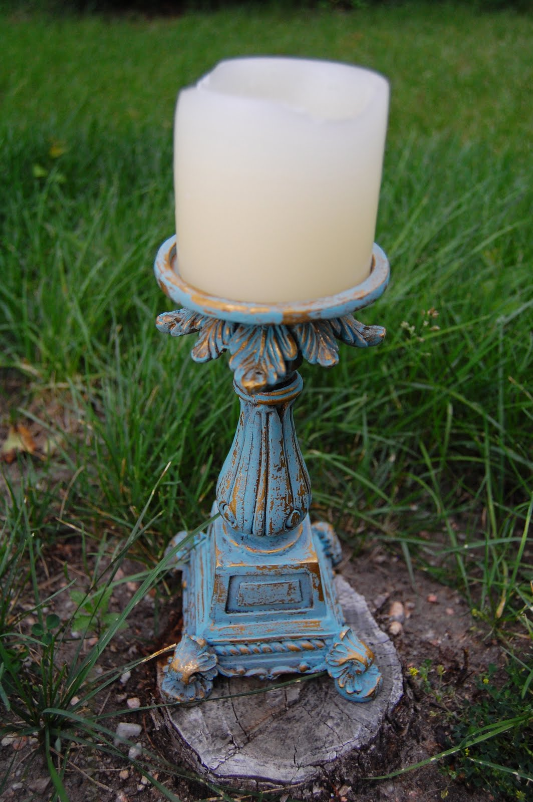 shades of amber how to use chalk paint