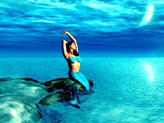 Sirena el interior secreto - Colorazione sirena pagina sirena ...