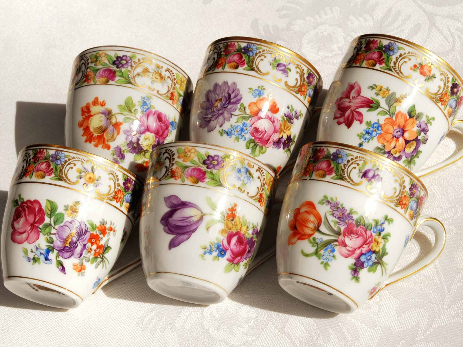 Schumann Bavaria Teacup designs