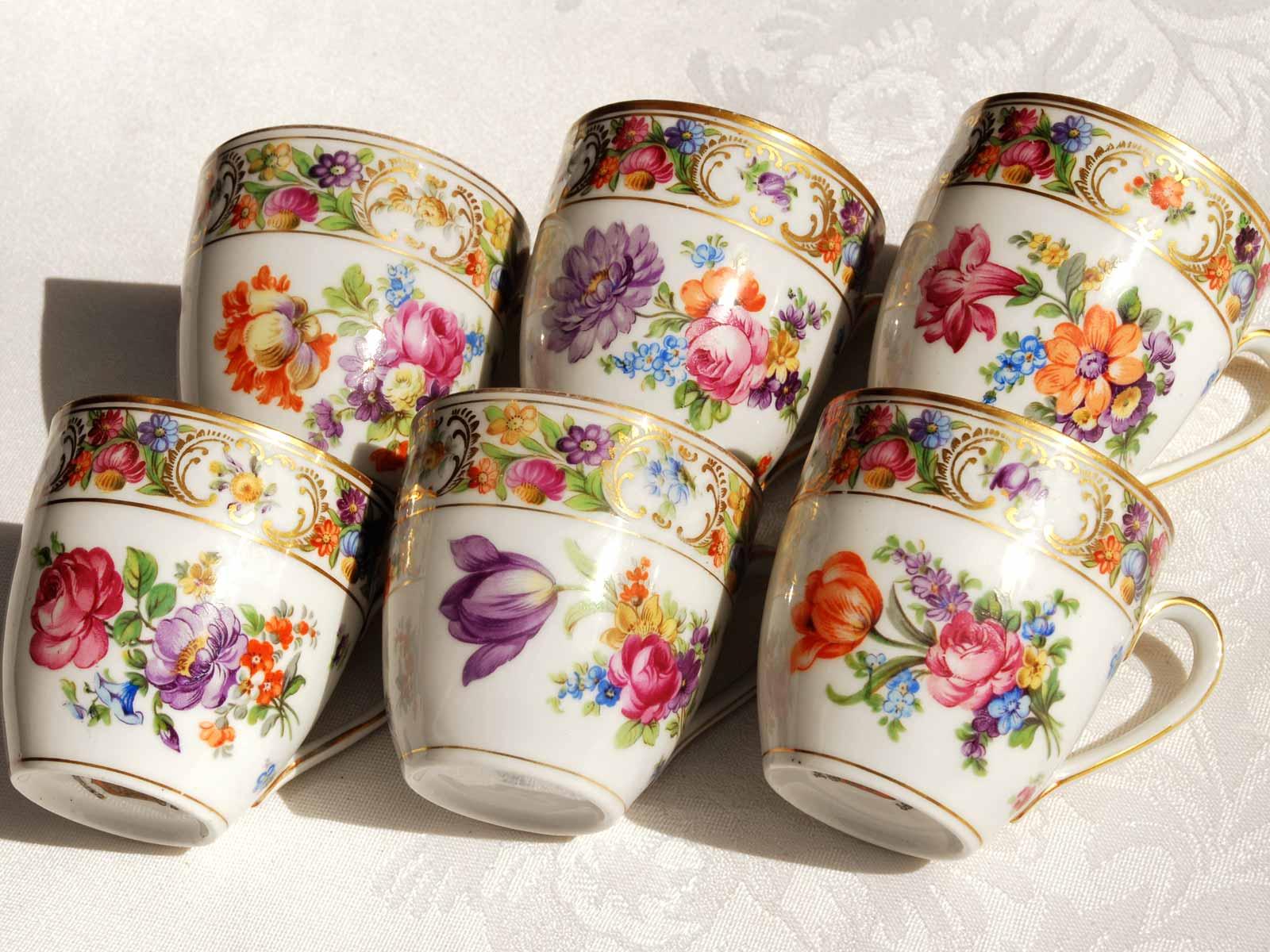 Schumann Bavaria Teacup designs