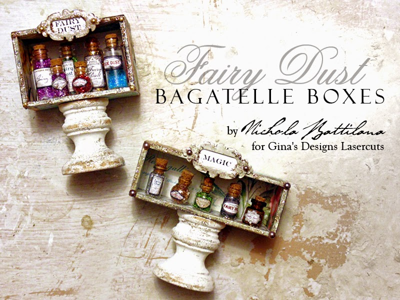 Fairy Dust Boxes with video tutorial - Nichola Battilana