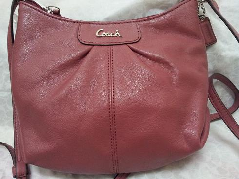 Coach Ashley Leather Swingpack (Style: 46872)