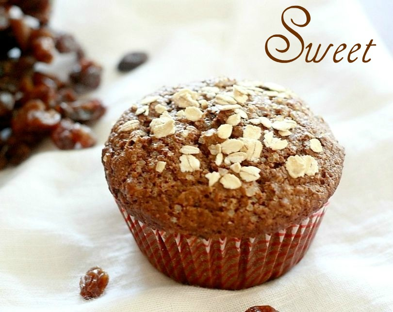 Lemon Drop: Raisin Bran Muffins