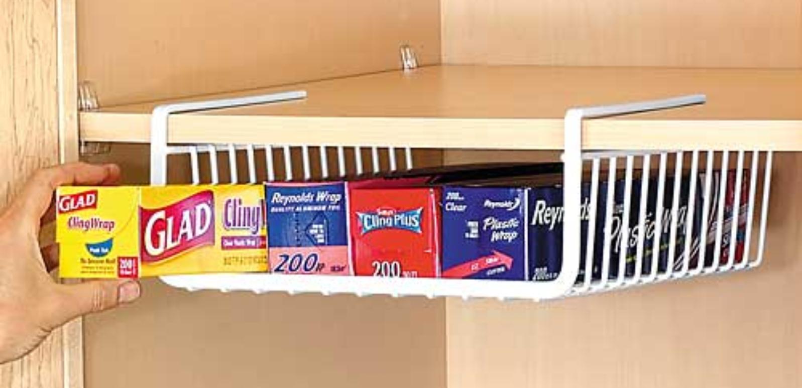 Under shelf pantry baskets jpg