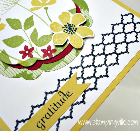 Summer Silhouettes Gratitude Card