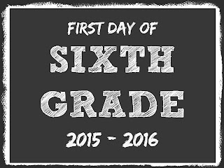 First Day of School FREE Printables 2015 - 2016