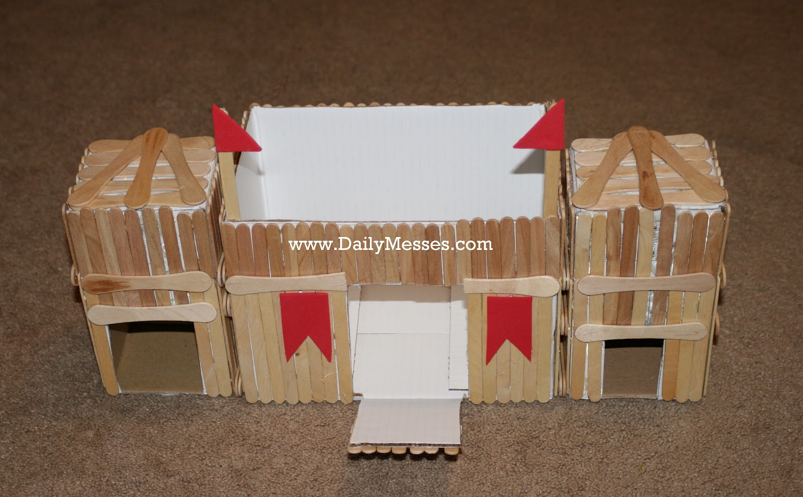 Where to get build a boat from popsicle sticks arc for How to make things out of sticks