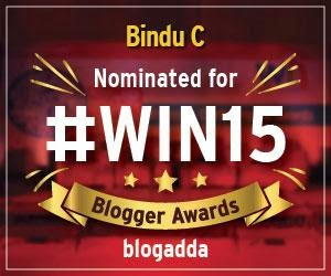 BlogAdda Awards Nomination