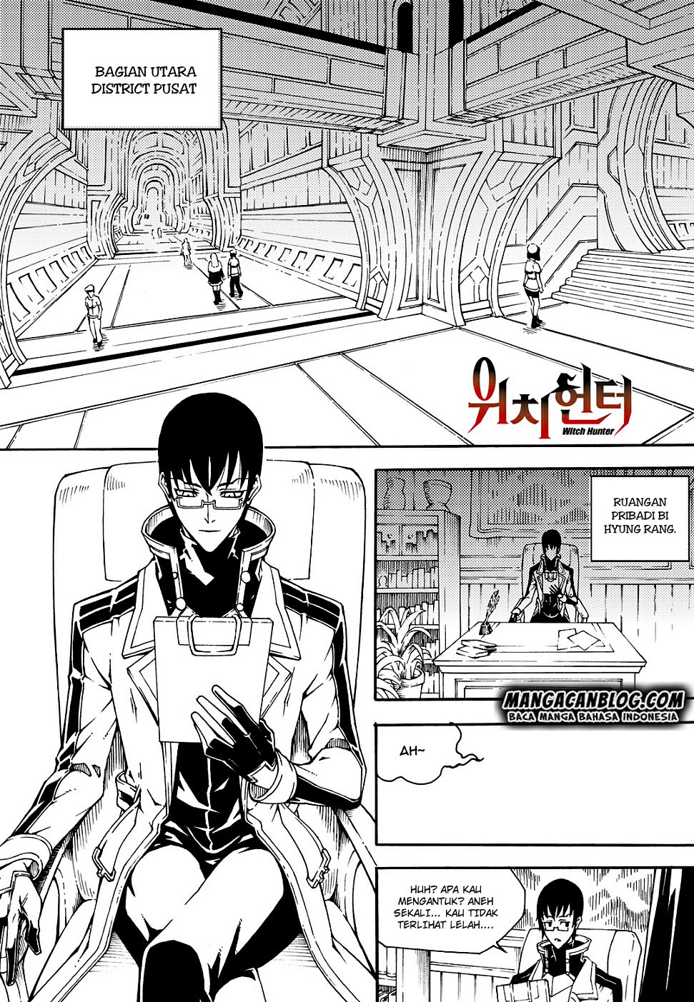 WITCH HUNTER Ch. 153: Murid Favorit