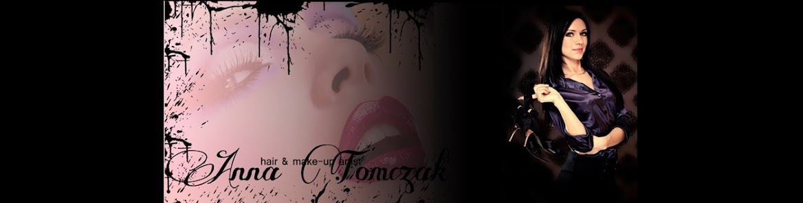 hair & make up artist Anna Tomczak