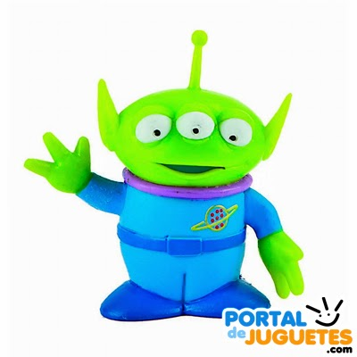 Figura Alien Pizza Planet Toy Story 3 Bullyland 12765