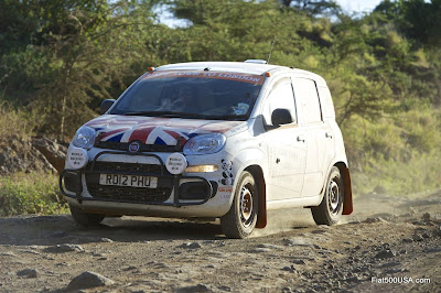 Fiat Panda world record breaker