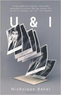 Jacket Photo for U and I: A True Story, Nicholson Baker