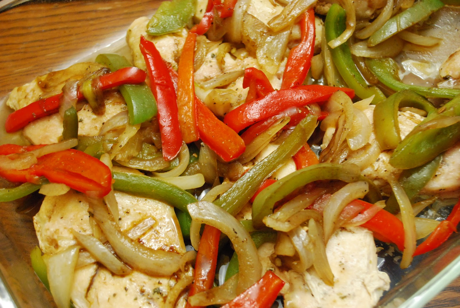"Point-less"" Meals: Roast Chicken with Balsamic Bell Peppers"