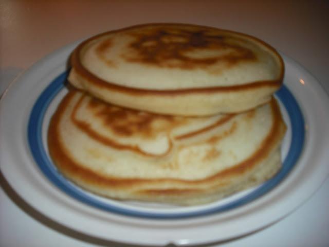 how to make plain pancakes recipe