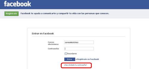 Cual es mi correo electronico de facebook