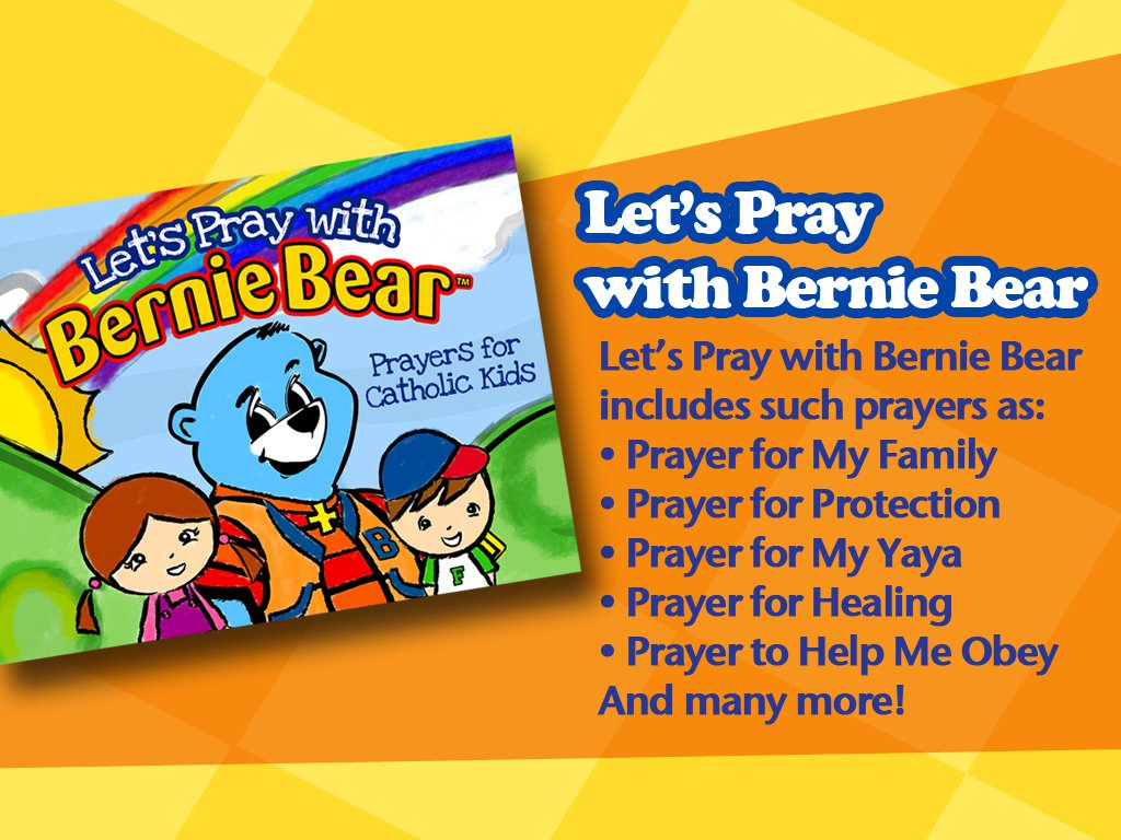 bernie bear cds and books for catholic children a giveaway the