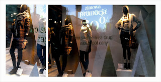 Marks and Spencer, store luq, wroclaw, breslau, windows dispaly, christmas