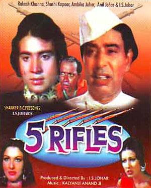 5 Rifles 1974 Hindi Movie Watch Online