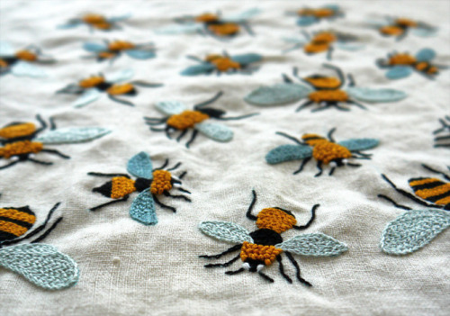 Embroidery Bee 2012 by Yumiko Higuchi