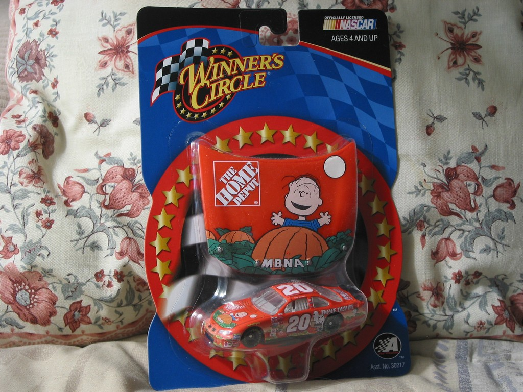 Tony Stewart And The Great Pumpkin