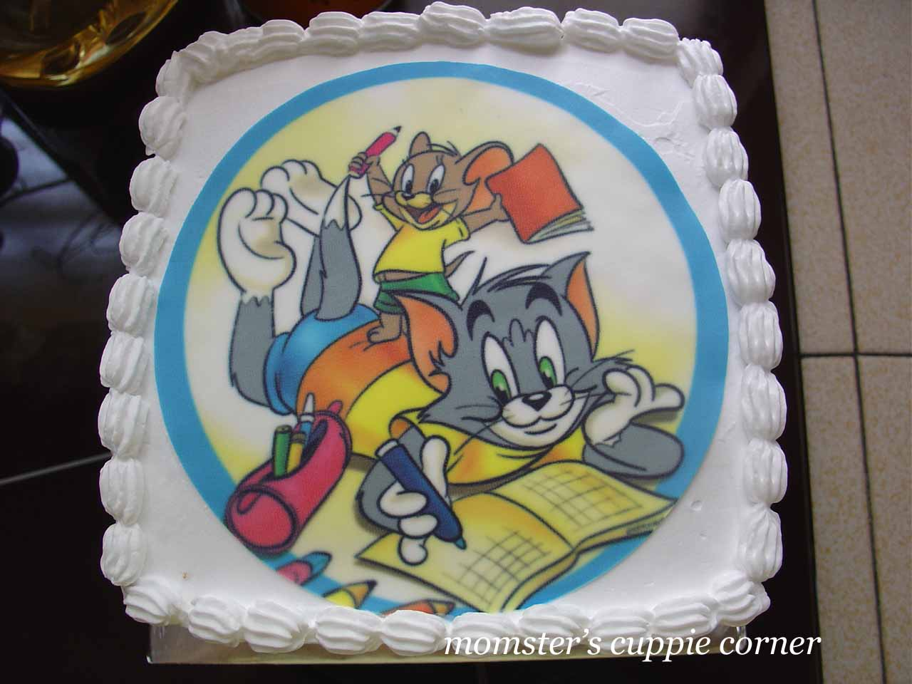 Tom and jerry birthday cake pictures for idea Cartoons pics