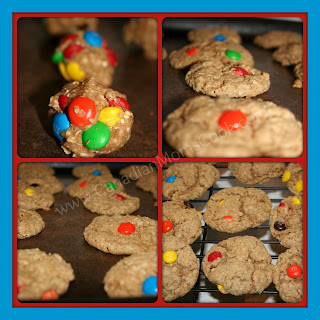 M&M Oatmeal Cookies via @CdnMomsCook