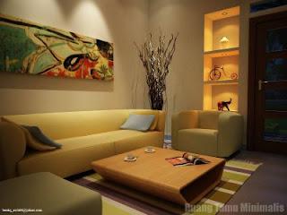 Contoh Desain Ruang Tamu Minimalis Terbaru