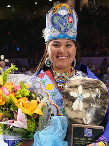 2019 - GATHERING OF THE NATIONS POWWOW - Miss Indian World Traditional Talent Presentations.