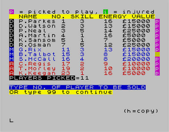 Image result for football manager 1982