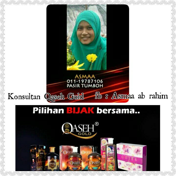 QASEH Dealer Pasir Tumboh, Kelantan. +6011-19787106 Pn. Asmaa.