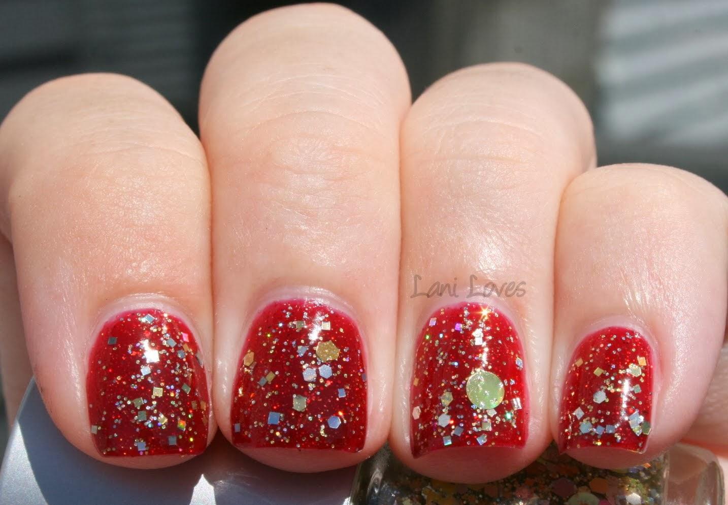 Star Kin Glitters Swatch