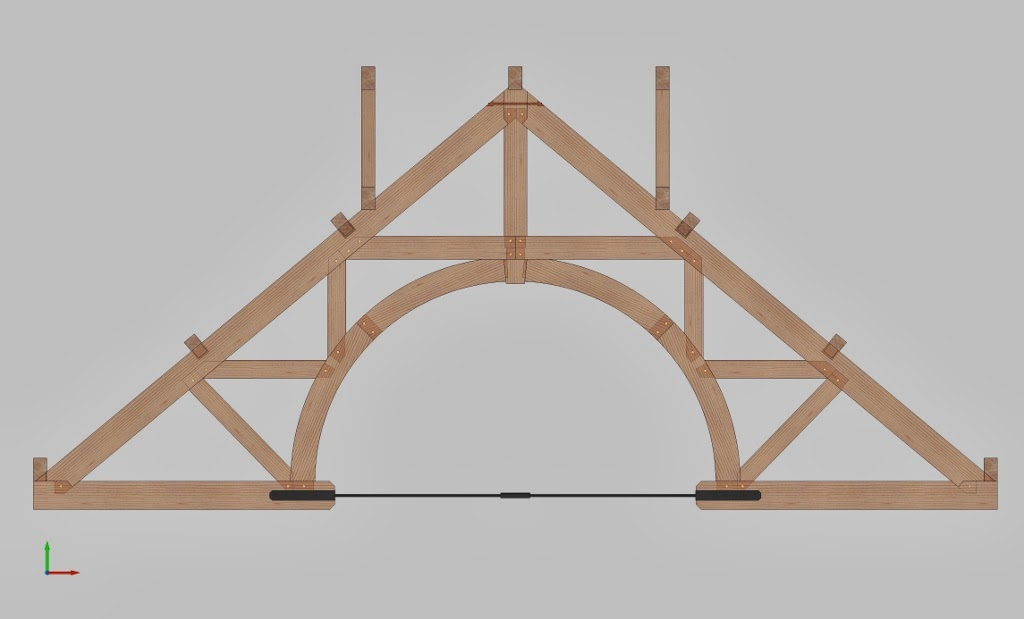 Timber Frame Design: International Timber Framing